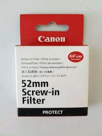 Canon 52mm Screw-in filter Protect  Oslo, 0566