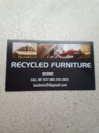 Will help Recycling Furniture