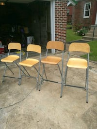 Folding bistro chairs.  Martinsburg, 25401