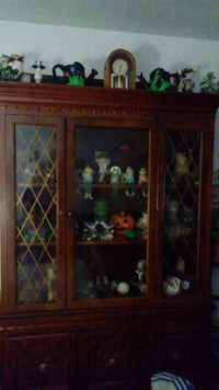 china cabinet with frog collections  Beavercreek, 45432