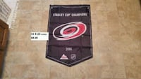 Carolina Hurricans stanley cup banner Timberlea, B3T 1G6