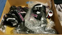 black and pink womens rollerblades size 7 Prineville, 97754