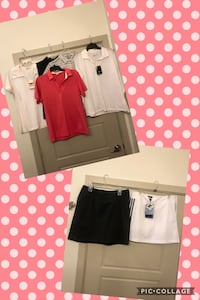 Designer GOLF clothes(Nike,adidas) sizes are L 10/12-NEW w/tags mostly Dallas, 75206