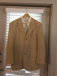 brown notch lapel suit jacket Houston, 77077