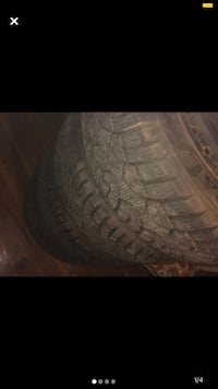 Winter tires with rims 15 inch  Mississauga, L4X 1V1