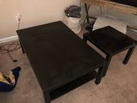 3 piece ikea coffee table and end tables  Sandy Springs, 30328