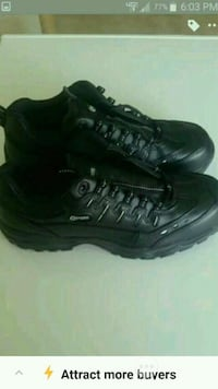 New / never worn HYTEST(Steel toe)work shoes  Sumter, 29154