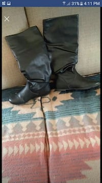 pair of black leather boots screenshot Manchester, 40962