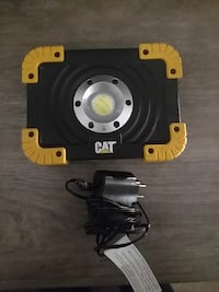 black and yellow CAT electronic device