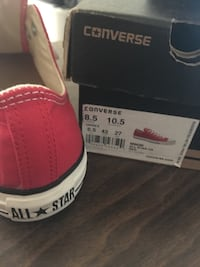 NEW All Star Converse Red Canvas Shoes Houston, 77006