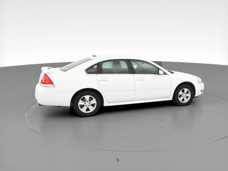 2014 Chevy Chevrolet Impala Limited sedan LS Sedan 4D White  11
