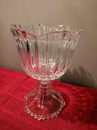 Pedestal Crystal Candy Dish Bowmanville