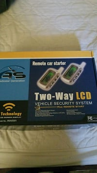 Two way LCD Remote car starter/security  Calgary, T3J 1J1