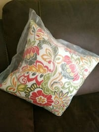 Brand new pillow indoor 17x17  Fall River