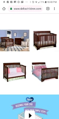 brown wooden bed frame with mattress Philadelphia