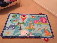 Tiny Love Discover The World Activity Baby Tummy Time Play Travel Mat