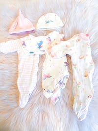 Baby Girl Sleepers Lot Milton, L9T