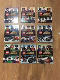 LEGO Super Heroes hardcover books Mississauga, L5N