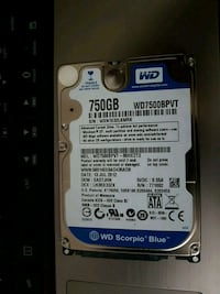 Laptop hard drive for sale  Pickering, L1X 2C2