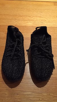 pair of black Adidas Yeezy Boost 350 New Westminster, V3L 4P8