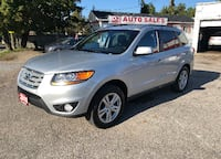 2010 Hyundai Santa Fe Limited w/Navi/Certified/Leather/Roof/Bluetooth Scarborough, ON M1J 3H5, Canada