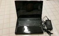 black laptop computer with charger Fairfax, 22031