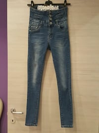 jeans in denim blu Dairago, 20020
