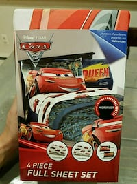 Brand New Disney Cars full bedding set