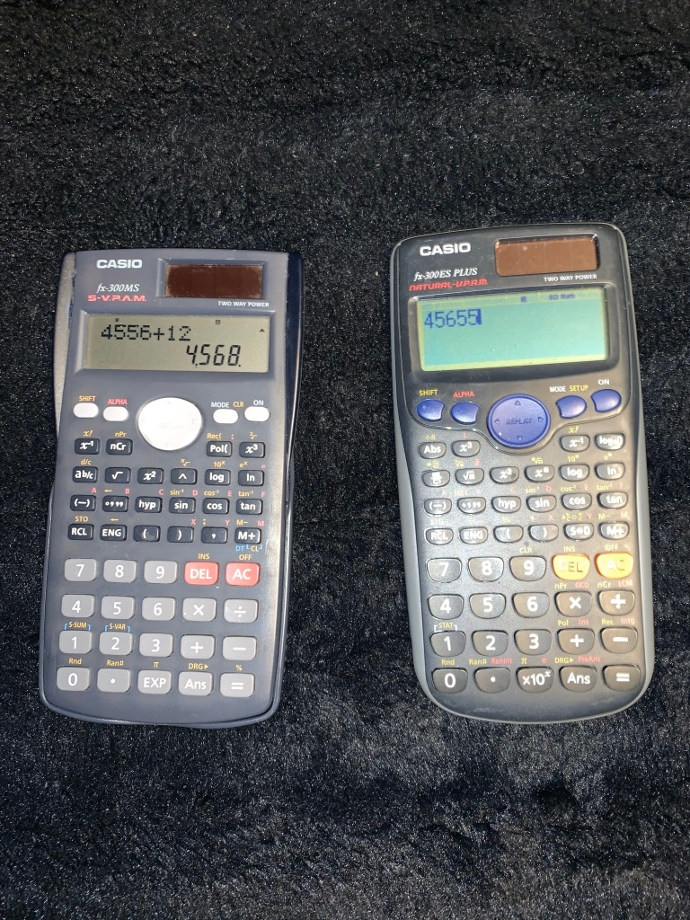 Photo 2 Casio Scientific Calculators (fx-300MS & fx-300ES Plus)