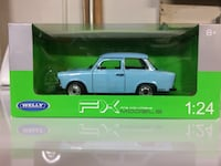Welly  Trabant 601 Die Cast 1:24 Wilmington, 19810