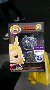 All Might Chrome Funimation Pop Yonkers, 10704