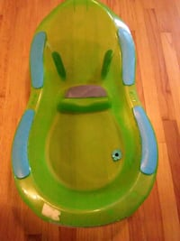 baby's green and blue plastic bather Fayetteville, 28314