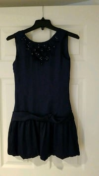 Girl's navy dress Alexandria, 22315