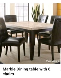 brown wooden dining table set Mississauga, L5M 6K2