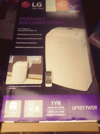 LG Air conditioner with Remote