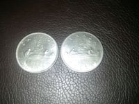 two round silver-colored coins Edmonton, T5C 2V3