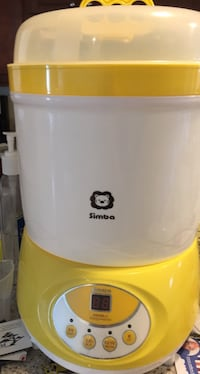 Yellow and white simba bottle sterilizer and dryer Gaithersburg, 20879