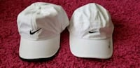 white and gray fitted caps Montréal, H1H 5C4