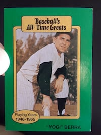 baseball's all-time greats Yogi Berra trading card Oliver Springs, 37840
