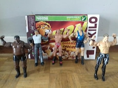 Figurine de catch wwe