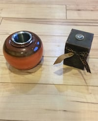 Oil candle and small fire pot