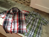 Boys cotton shirts size 6-6x $4.00 each ready for back to school Mississauga, L4X 1J2
