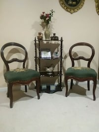 two green and brown wooden armchairs Toms River, 08753