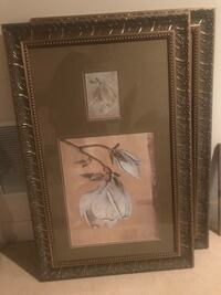 2 paintings with frames Ashton, 20861