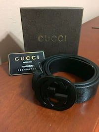Gucci All Black Belt Houston, 77074