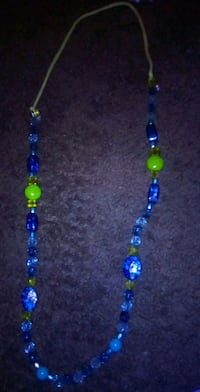 blue and green beaded necklace Fresno, 93706