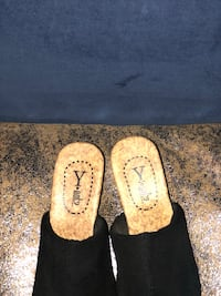 pair of white-and-brown slip on shoes Little Rock, 72210