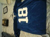 blue and white 18 jersey shirt Indianapolis, 46250