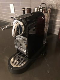 Nespresso Citiz espresso coffee machine