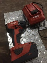 red and black Hilti cordless power drill St Albert, T8N 3L3